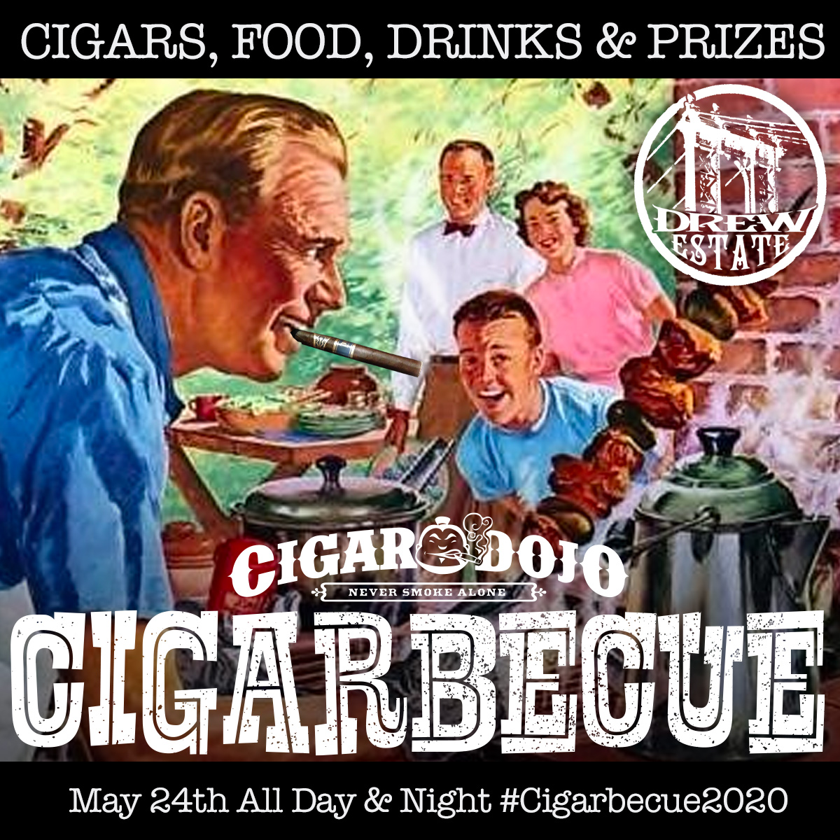 Cigarbecue Drew Estate